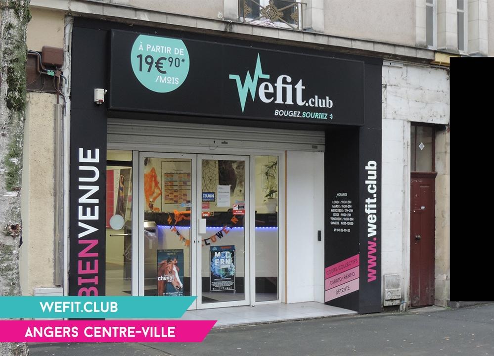 Salle de sport - Franchise Wefit - Angers centre villle_