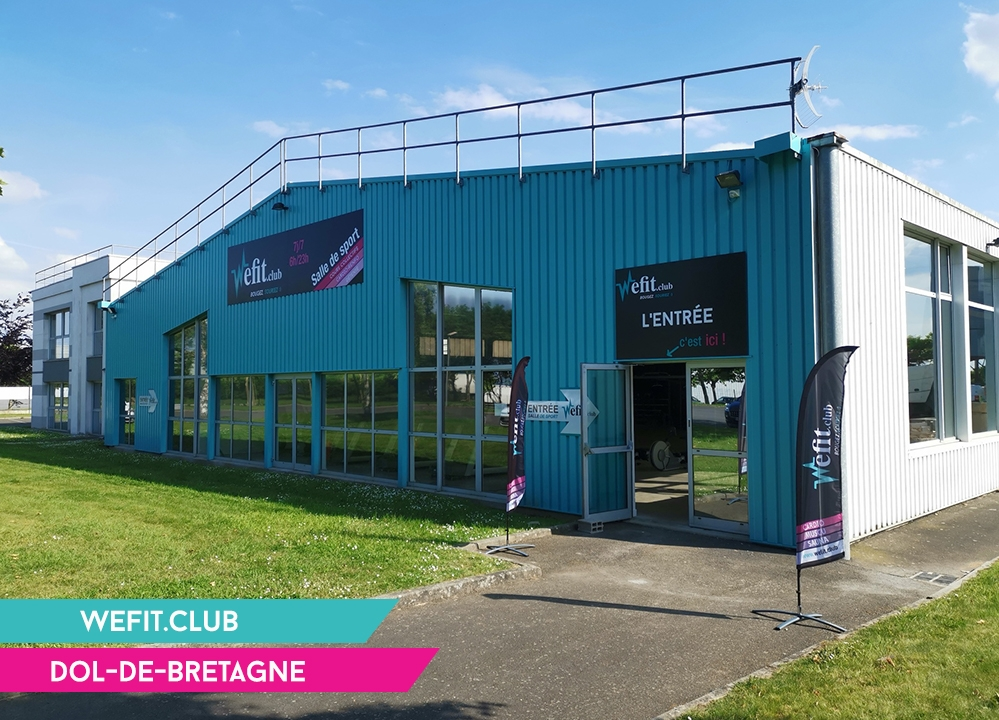 Salle de sport - Franchise Wefit - dol de bretagne_